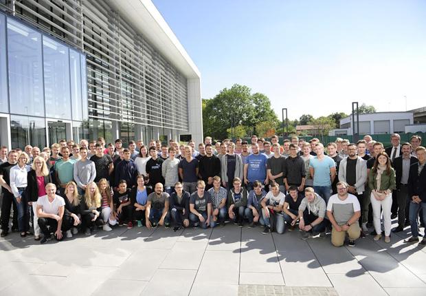 70 Nachwuchskräfte verbringen in dieser Woche ihre Welcome Week gemeinsam mit dem WAGO Ausbildungsteam. (Foto: WAGO)