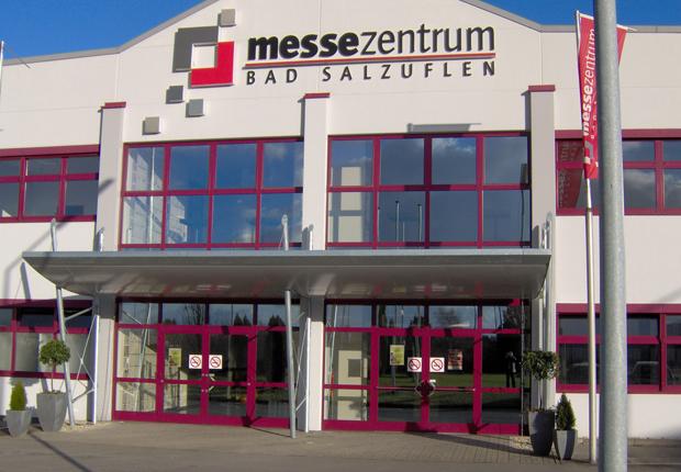 Die Netzwerktage OWL werden erstmalig im Messezentrum Bad Salzuflen stattfinden (Foto: MesseHAL)
