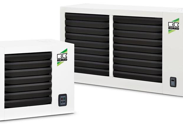 Die neue Generation von Wand-Heizautomaten zeichnet sich durch ihre kompakten Abmessungen aus. (Foto: REMKO GmbH & Co. KG, Lage)