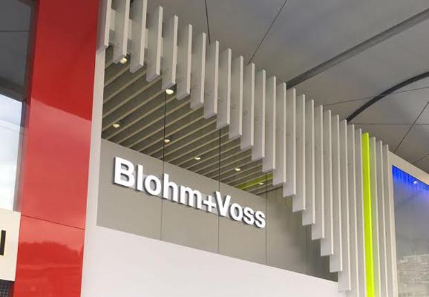 Schendel & Pawlaczyk inszeniert Blohm+Voss Stand auf der Monaco Yacht Show (Foto: S&P)