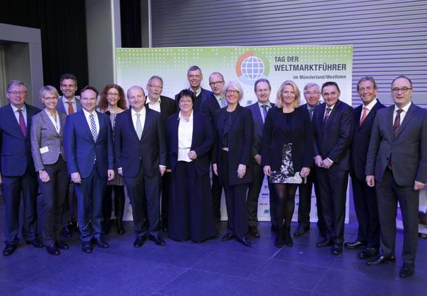 Gemeinsam haben die Partner aus dem Münsterland und der Emscher-Lippe-Region den Tag der Weltmarktführer erstmals in die Region geholt. (Foto: Jörn Wolter/Management Forum)