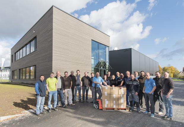 Umzug der primeLine Unternehmensgruppe in das Industriegebiet Bad Oeynhausen Eidinghausen (Foto: primeLine)