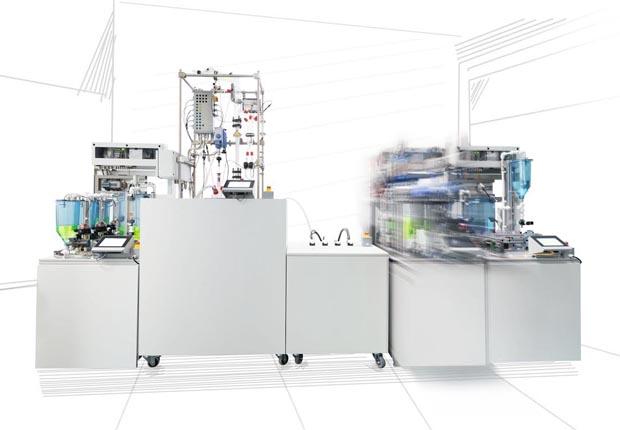DIMA-Konzept zur modularen Automation überzeugt Expertenjury und Fachpublikum. (Foto: WAGO)