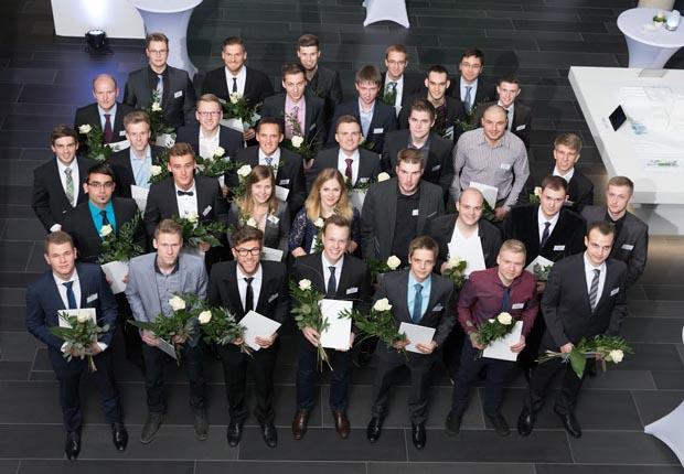 Die Preisträger der WAGO-Stiftung (Foto: WAGO)