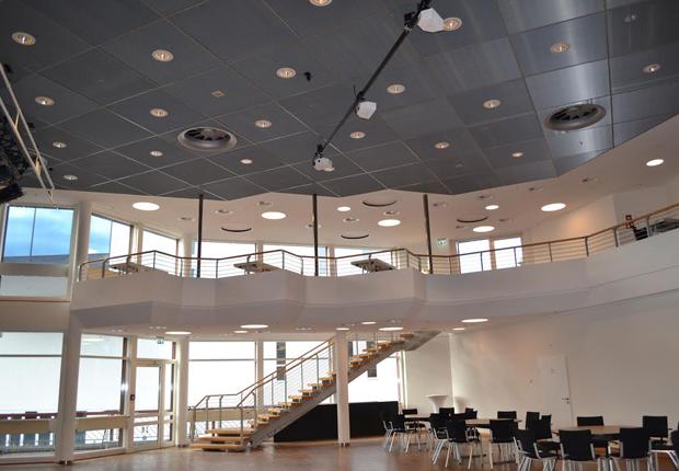 Der kleine Saal in der Stadthalle (Foto: Kultur Räume Gütersloh)