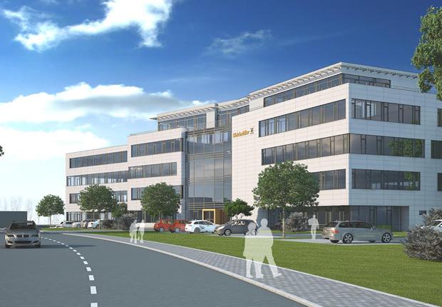 Ein Entwurf des neuen Customer & Technology Centers von Weidmüller. (Foto: Weidmüller)