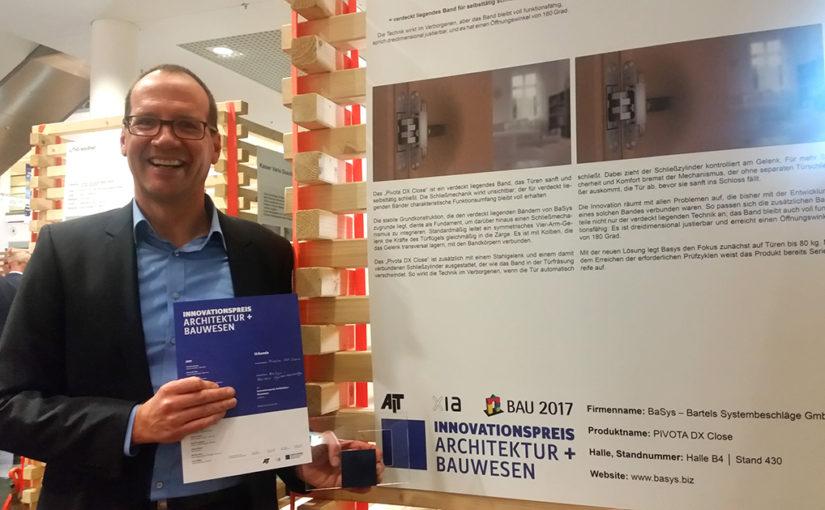 B/a/S/y/s gewinnt Innovationspreis auf der BAU