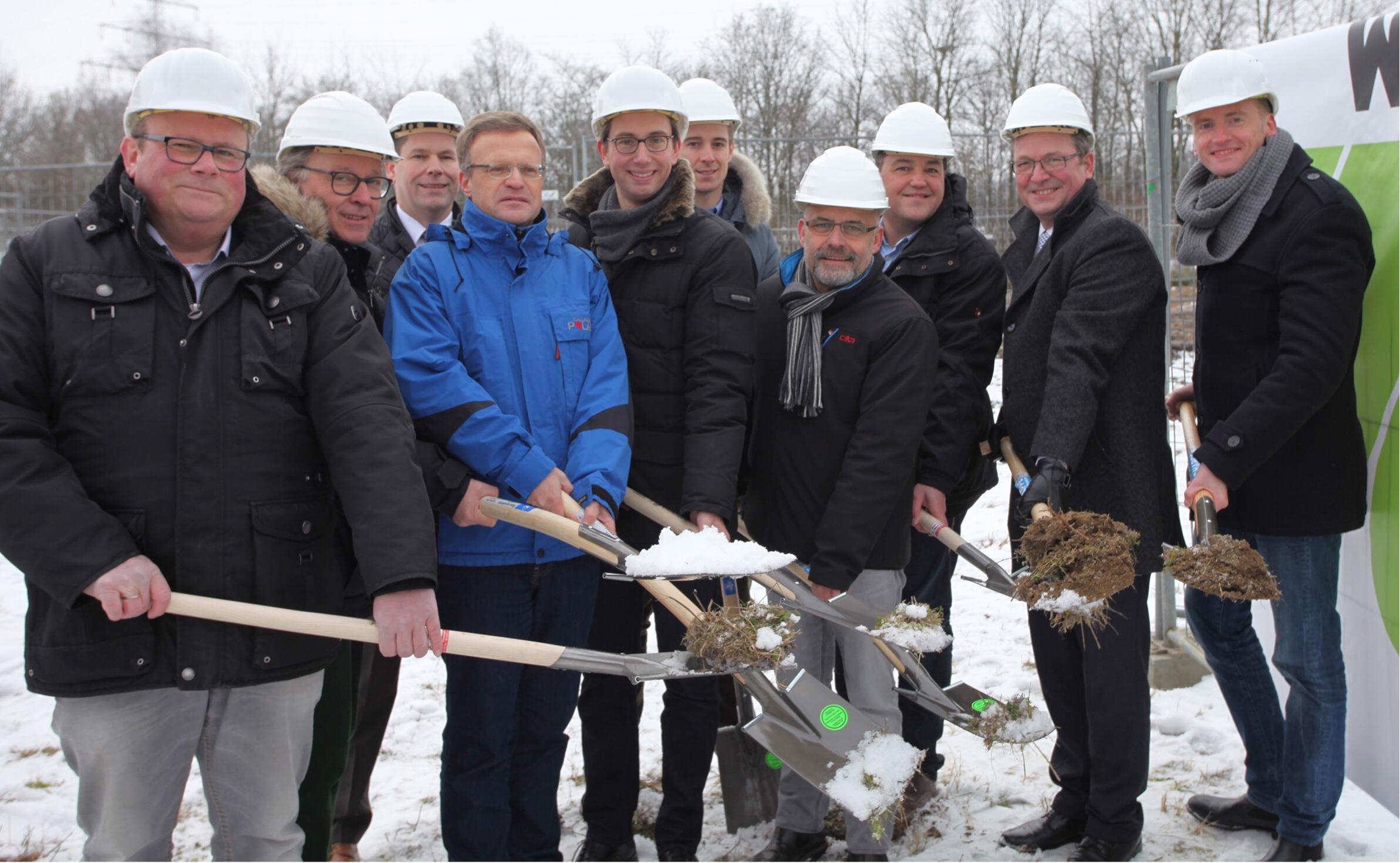 Wegener Paderborn spatenstich im paderborner technologiepark wir wirtschaft regional