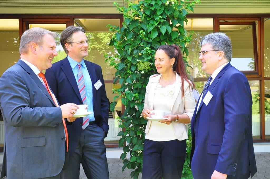 Die AGF Detmold und ihre Gäste diskutierten unter anderem über die Kennzeichnung von Lebensmitteln (Foto: AGF)