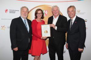 Die Mindener Bäckerei Bertermann erhielt ebenfalls die Auszeichnung Meister.Werk.NRW