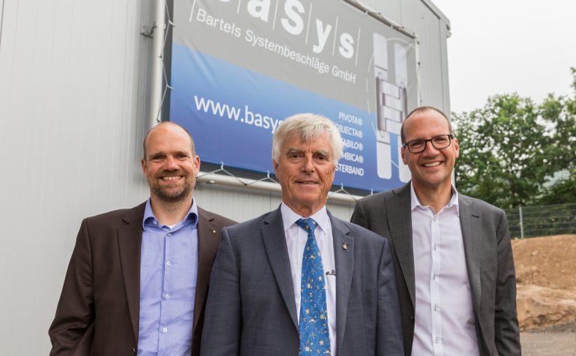 BaSys: Neue Fertigungshalle in Kalletal