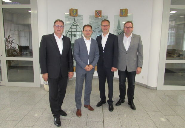 Das Unternehmen Deutsche Glasfaser hat ein Glasfasernetz in Spelle ausgebaut.