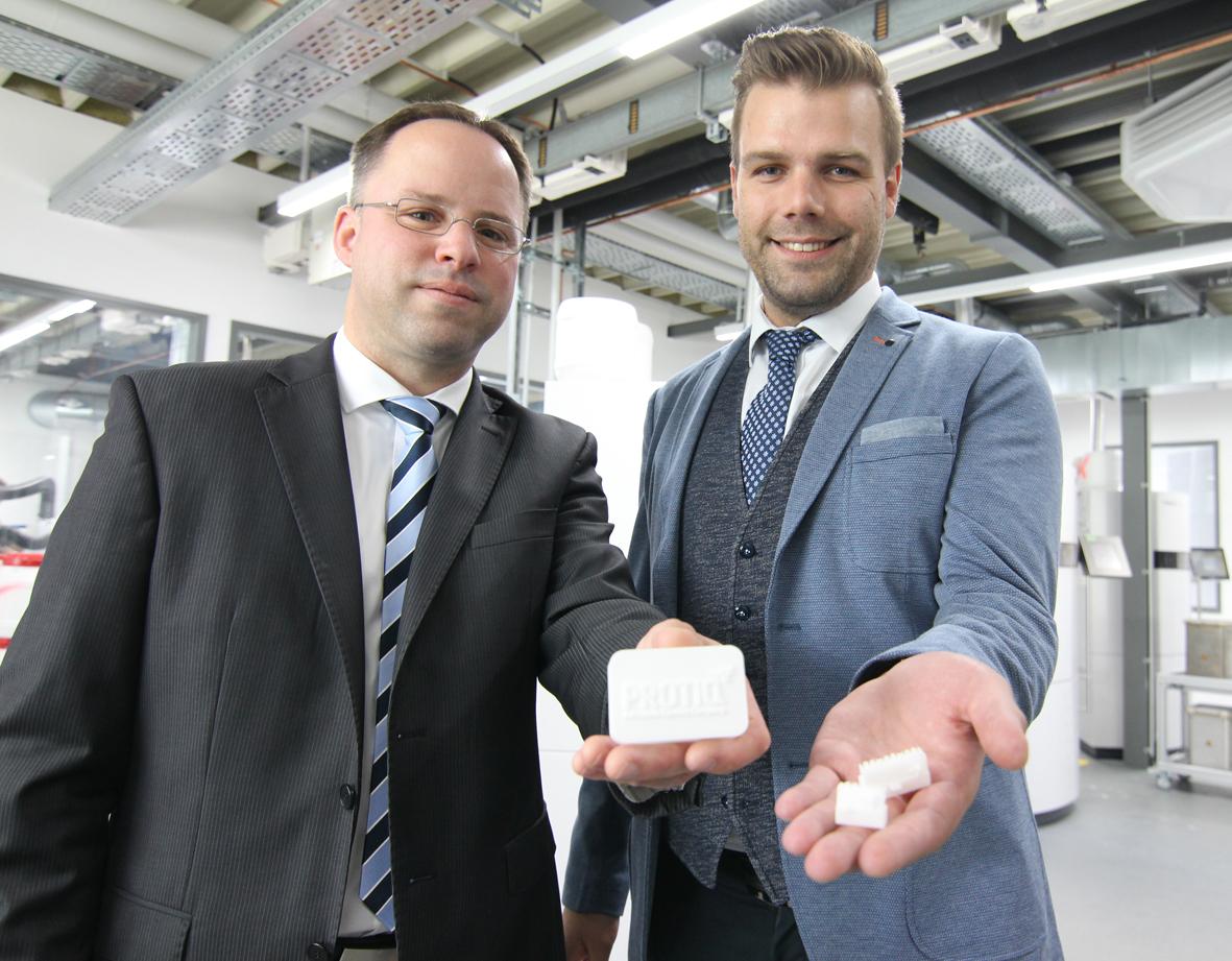 Die Unternehmen Steinbach AG und Protiq arbeiten jetzt im Bereich Technical Ceramics zusammen (Foto: Phoenix Contact)