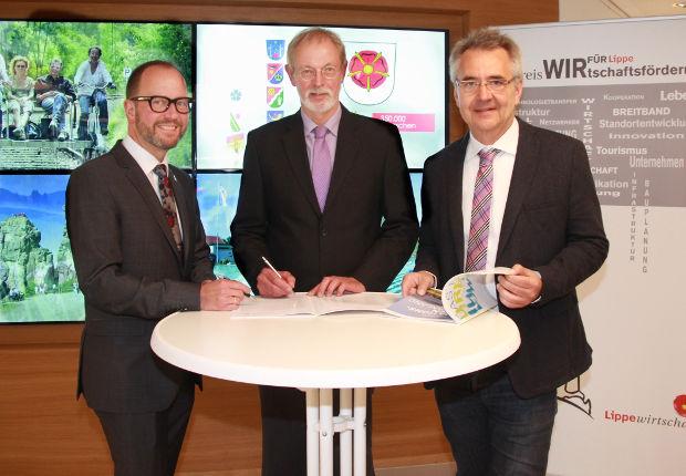 Glücklich über die neue Kooperationsvereinbarung