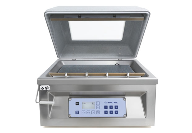 Die Tischkammermaschine C 200 ist eine der Verpackungslösungen für Brot, Backwaren, Kuchen und Feingebäck von Multivac.