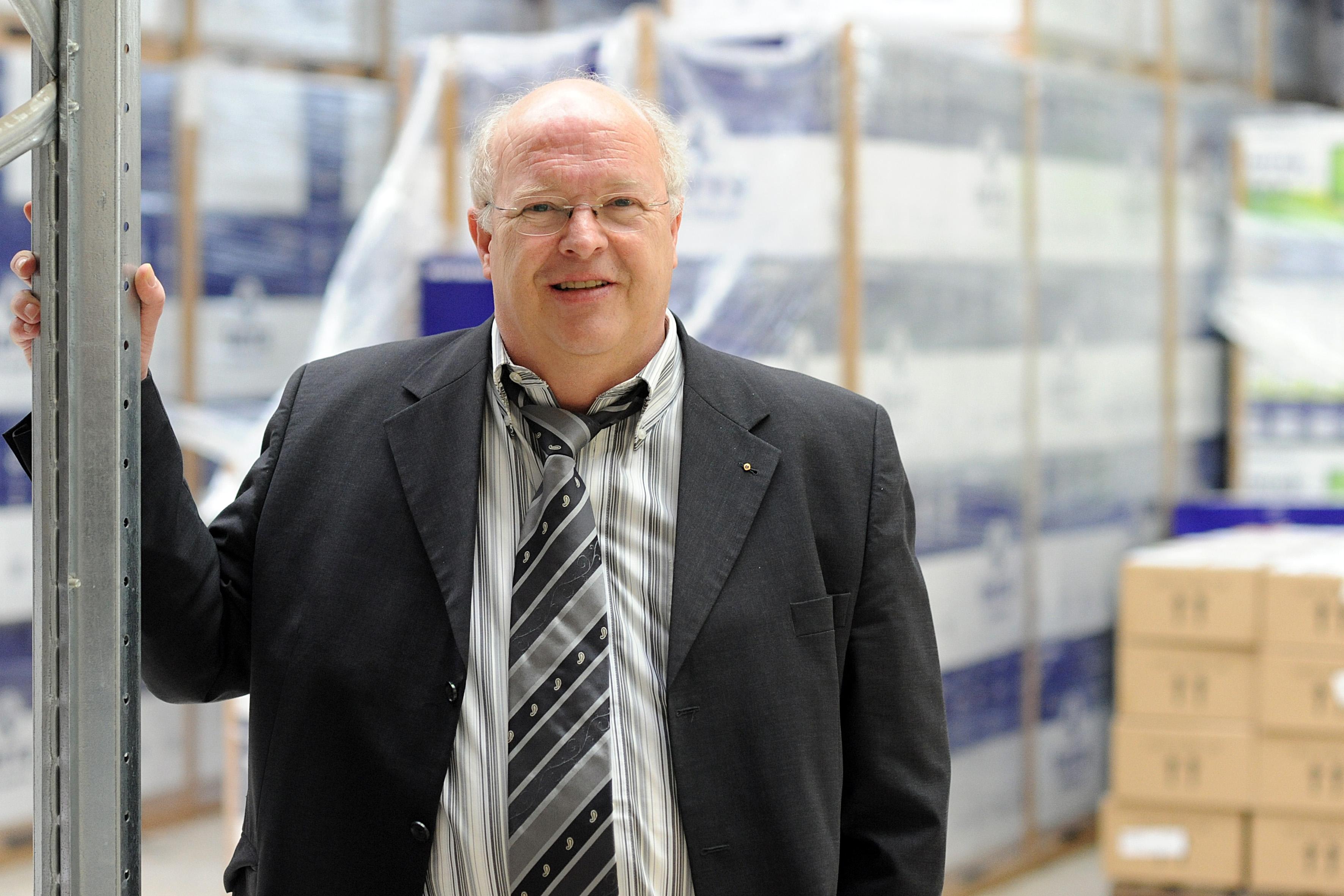 Siegbert Wortmann, Vorstandsvorsitzender der Wortmann AG  freut sich über die positive Halbjahresbilanz (Foto: WORTMANN Gruppe)