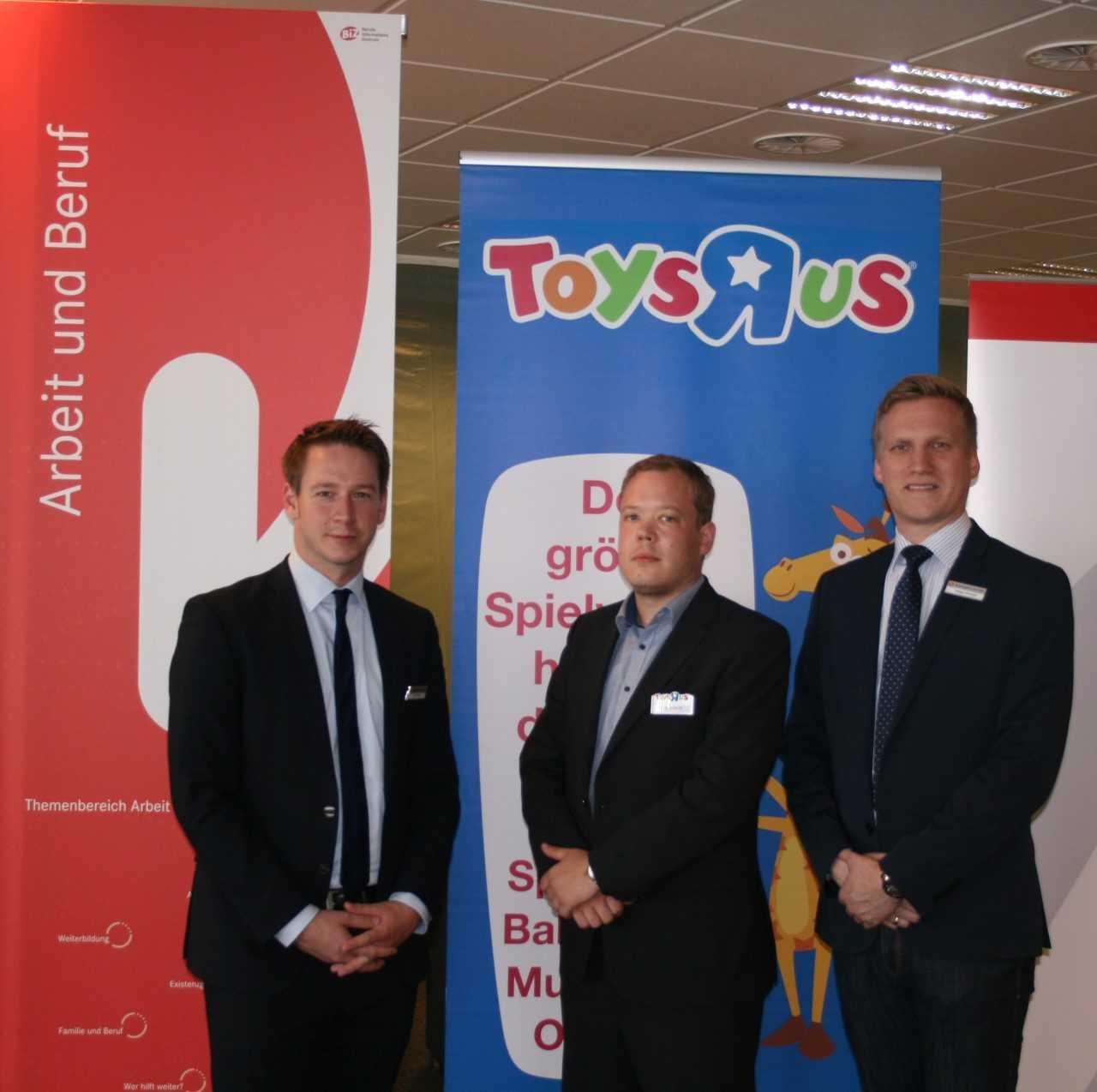 """Für Toys""""R""""Us war die Kooperation mit dem ECE und der Agentur für Arbeit ein voller Erfolg (Foto: Toys""""R""""Us/Aentur für Arbeit)"""