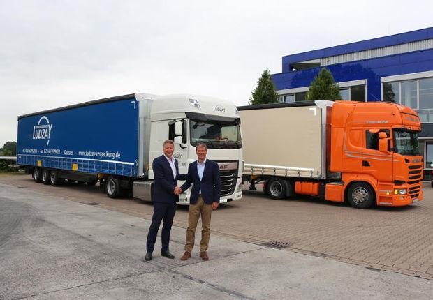 Ludzay optimiert Laderaum - Schmitz Cargobull liefert Auflieger