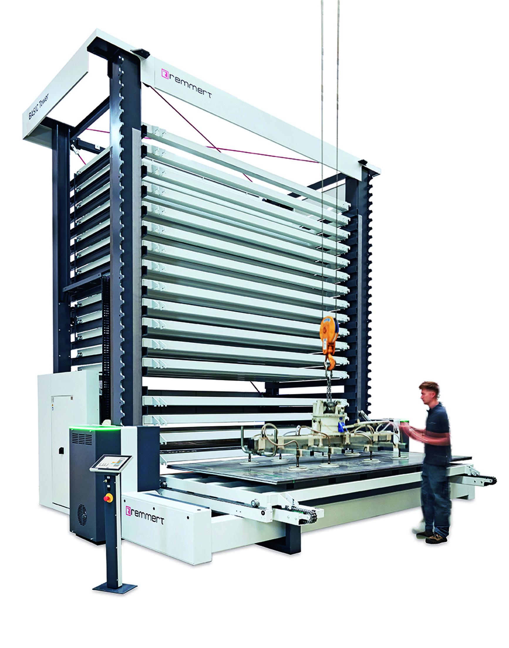 Die Konzepte von Remmert helfen der verarbeitenden Industrie bei der Metalllagerung (Foto: Remmert)