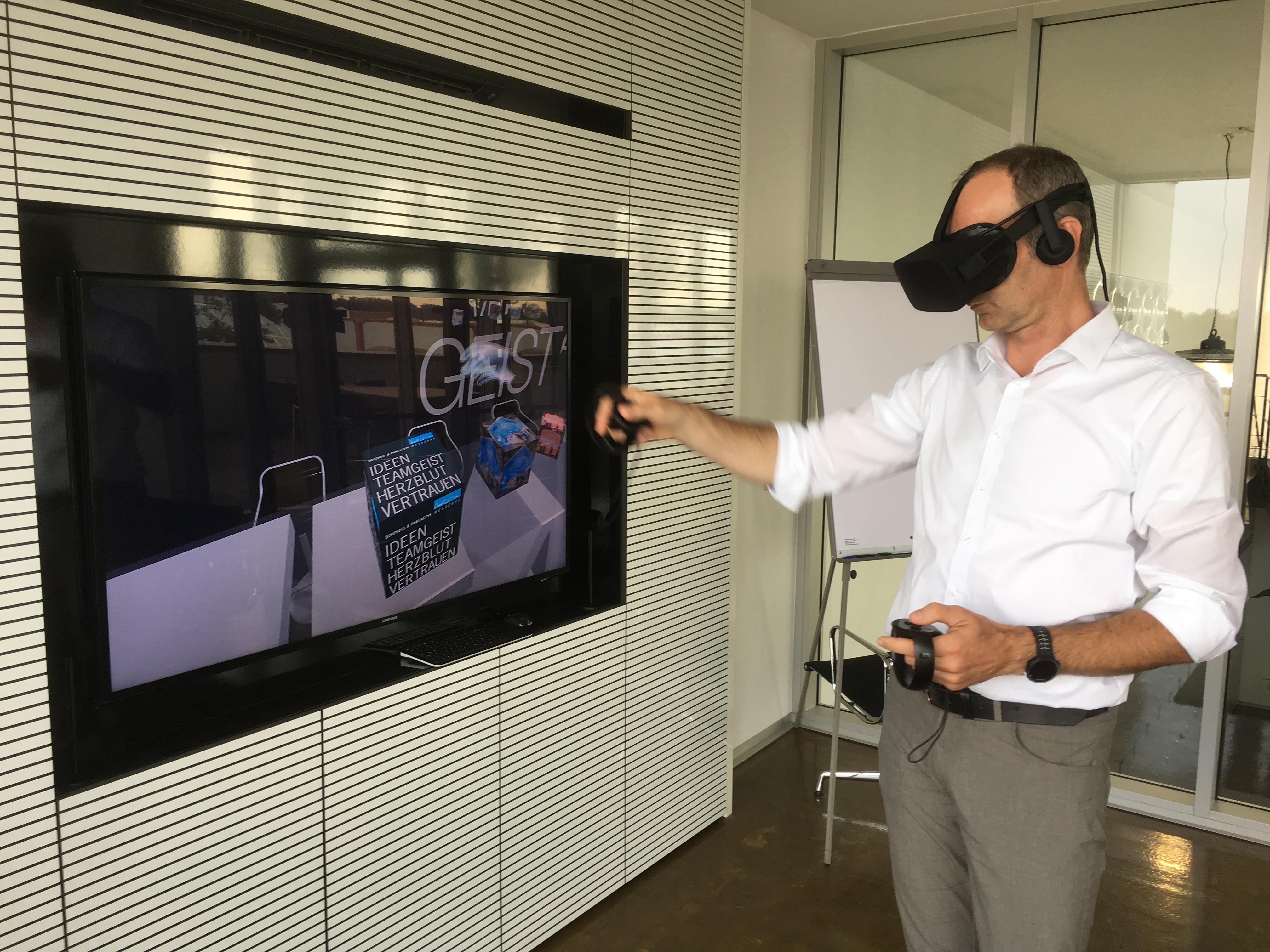 Mit der VeRa-Technologie lässt sich ein Messestand einfach virtuell designen (Foto: S&P)