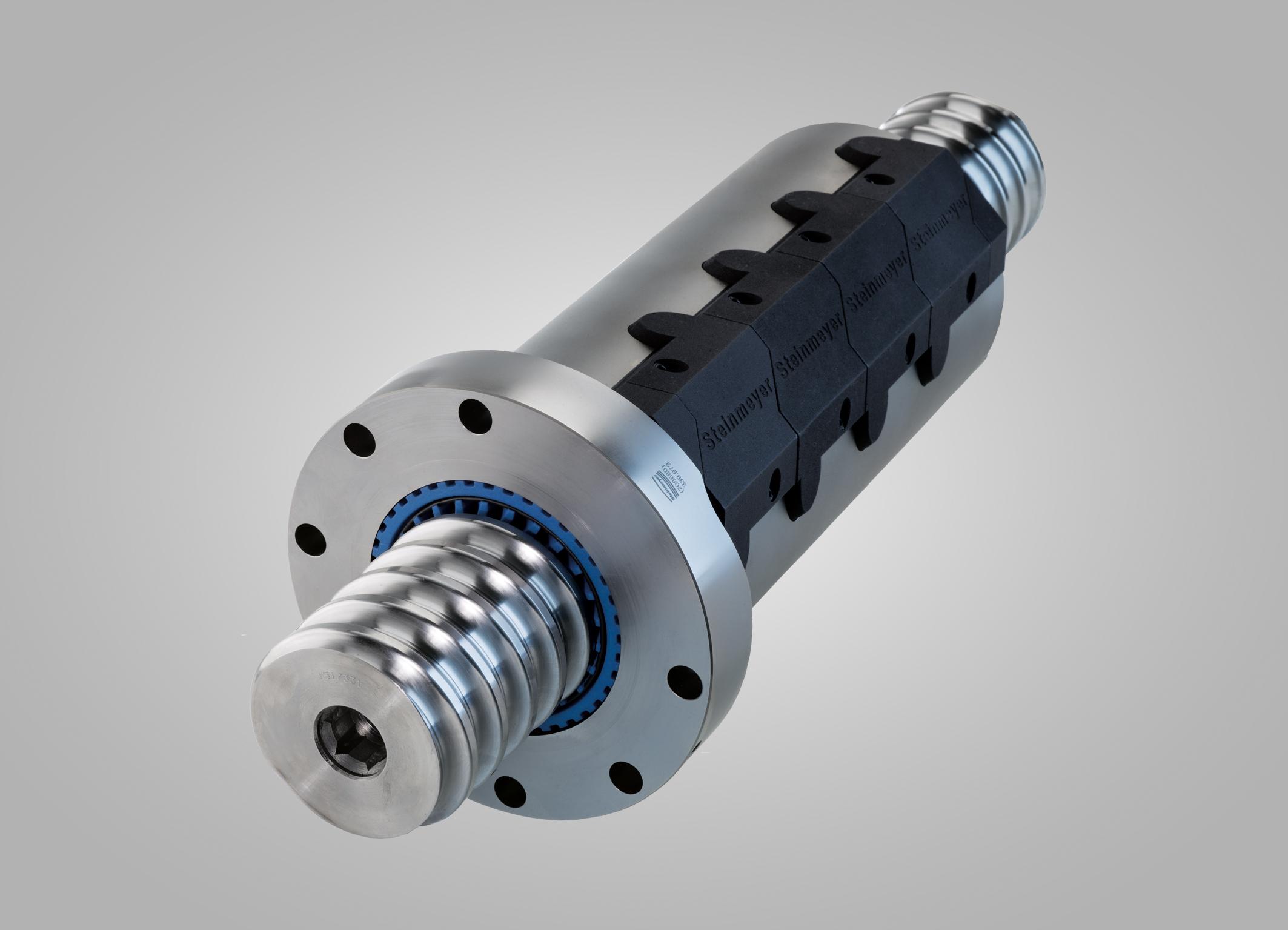 Schwerlast-Kugelgewindetriebe von Steinmeyer erlauben eine genaue Positionierung großer Gewichte (Foto: August Steinmeyer Gmbh)