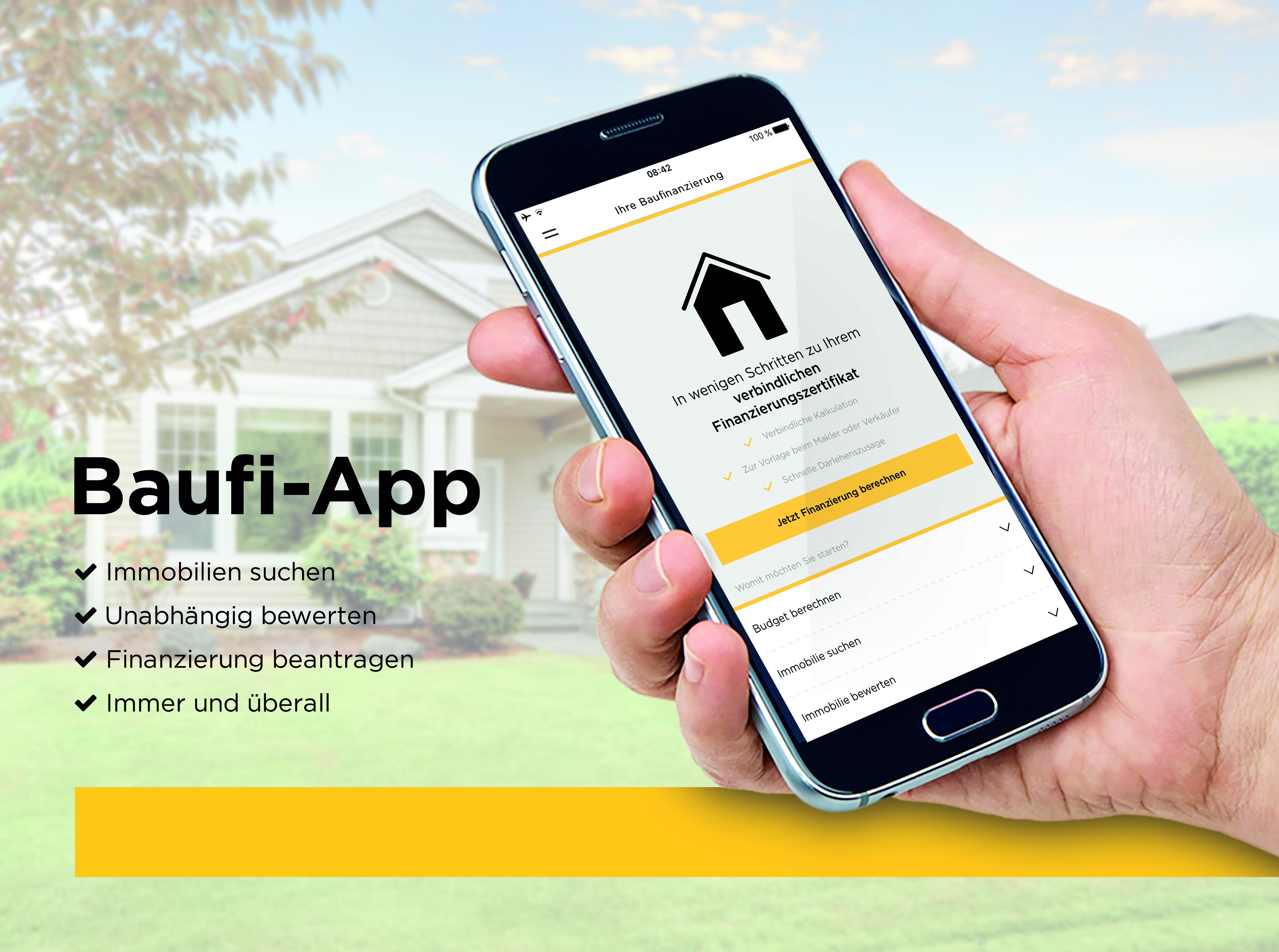 Baufinanzierungs App der Commerzbank