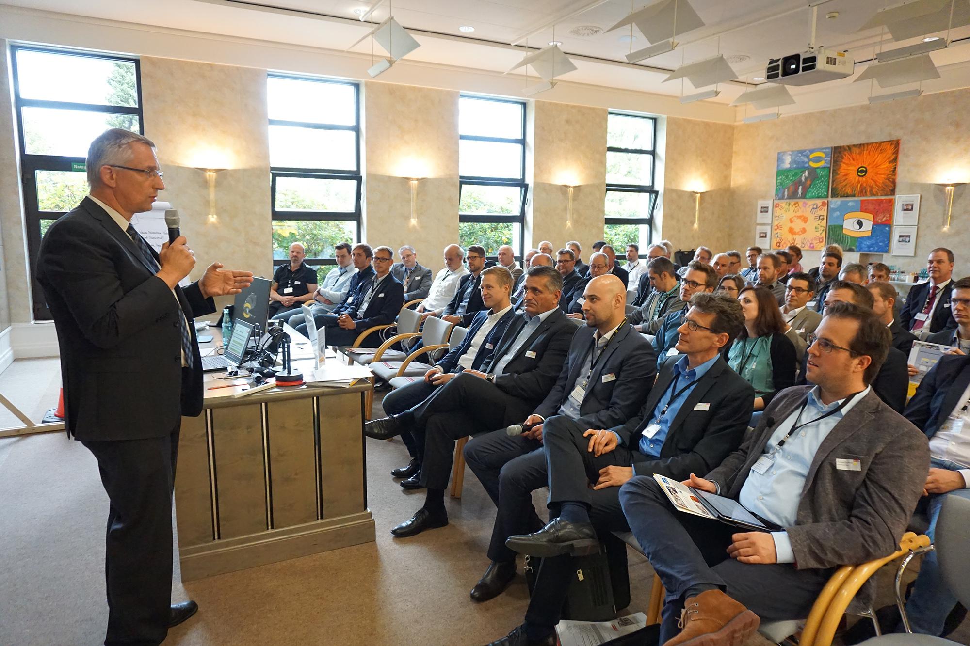Agile Fertigung war eines der Haupttehmen des Workshops in Espelkamp (Foto: HARTING)