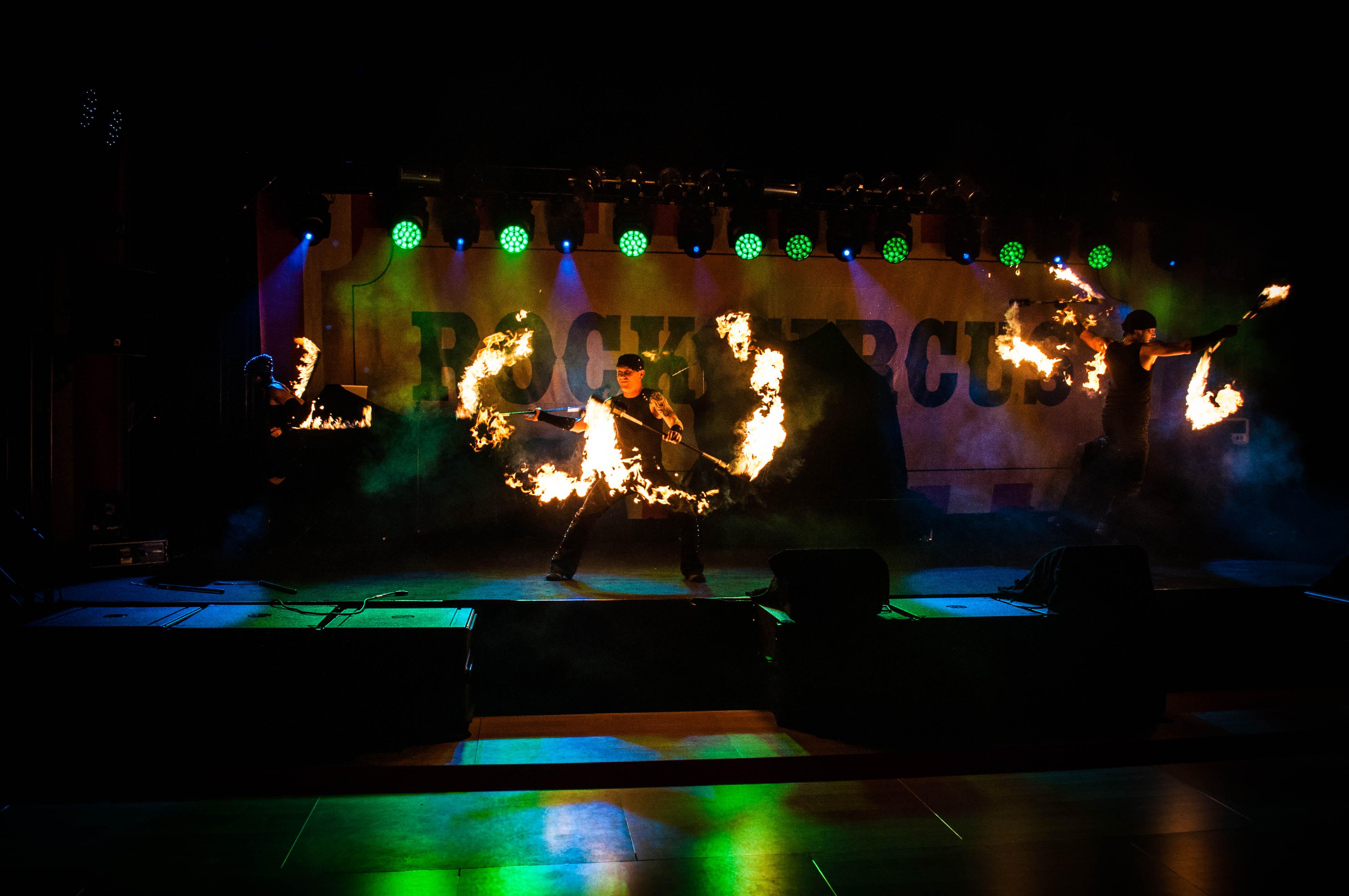"""Rock und Action - 30 Jahre waren  den """"Rock Circus"""" wert (Foto: EMP Merchandising)"""