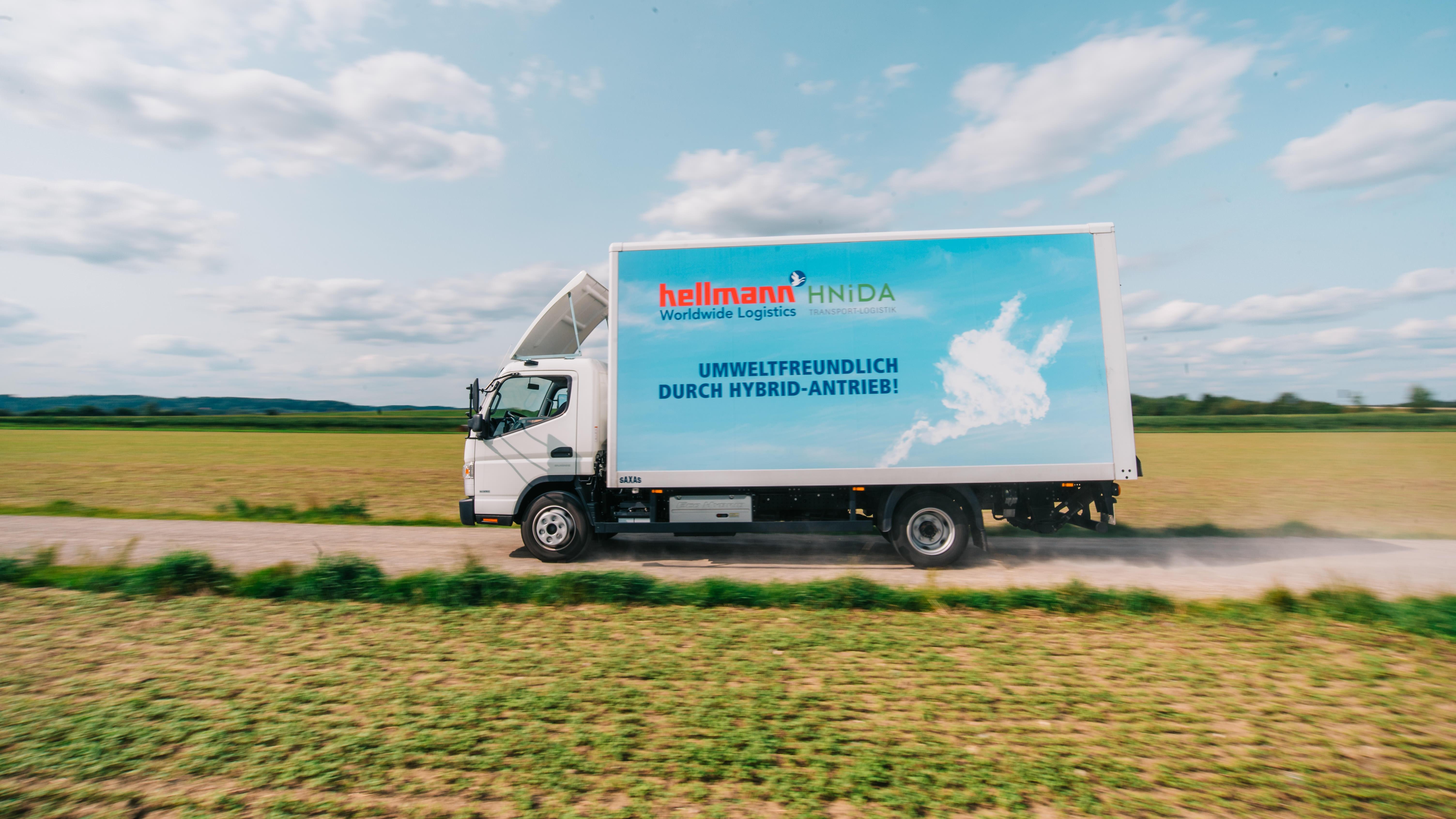 Hellmann will in Städten wie Augsburg nun auf Hybridantrieb setzen (Foto: Hellmann)
