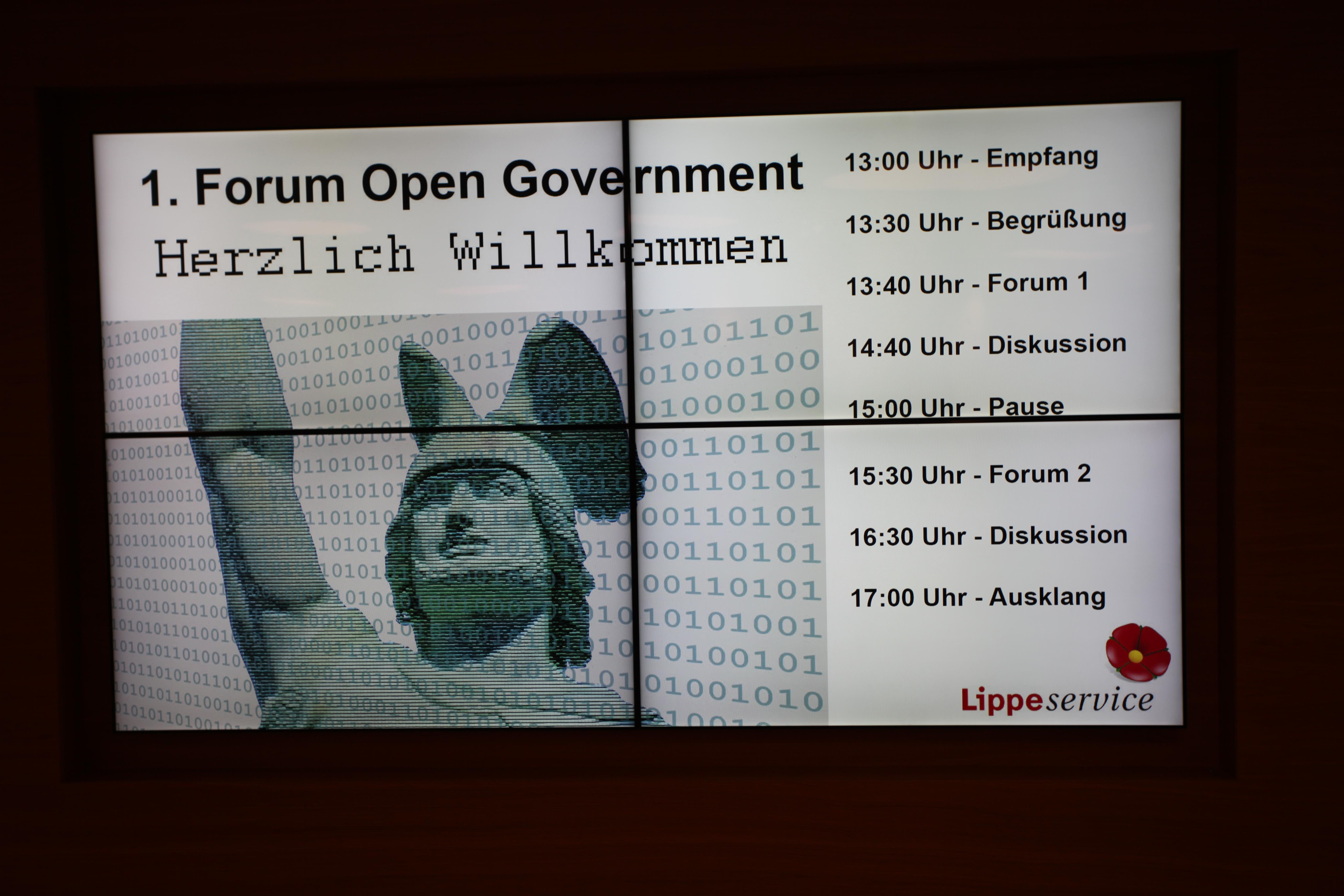 Mehr Transparenz und Mitbestimmung für den Kreis Lippe - das ist das Ziel von Open Government (Foto: Press Medien)