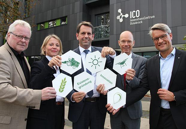 Osnabrücker Land wird zum Zukunftsstandort der Agrar- und Ernährungsbranche, Start-up-Zentrum in den Startlöchern