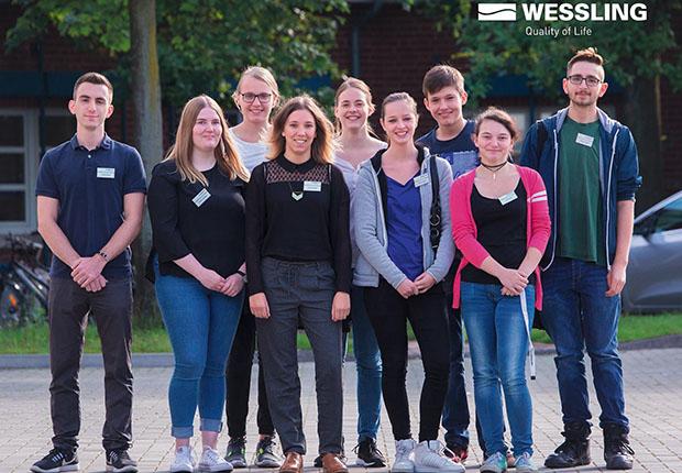 Bereits zum zehnten Mal trafen sich die Auszubildenden aller Jahrgänge zum Azubi-Frühstück in der Unternehmenszentrale in Altenberge.