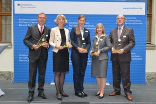 Unter den Ausgezeichneten beim diesjährigen Papieratlas-Festakt war auch die Universität Osnabrück (Foto: Tina Merkau)