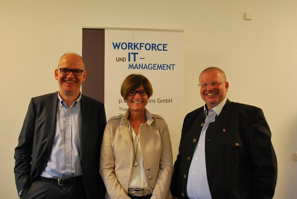Führten durch das Thema Coaching im Projektmanagement: Volker Johannhörster, Ute Osterkamp und Markus Bode (v.l.)