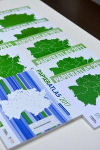 Der Deutsche Papieratlas zeigt, dass Ibbenbüren Wert auf Recycling legt (Foto: Deutscher Papieratlas)