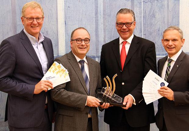 Sind stolz auf die Nominierten beim Innovationspreis Münsterland