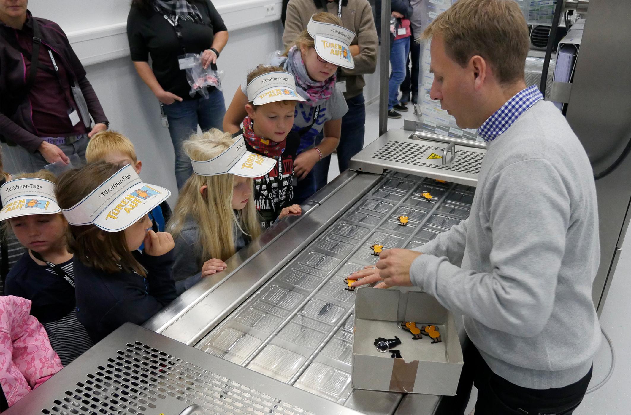 MULTIVAC beteiligte sich am siebten Türöffner-Tag der Sendung mit der Maus (WDR) mit einer Veranstaltung für Kinder und Familien.