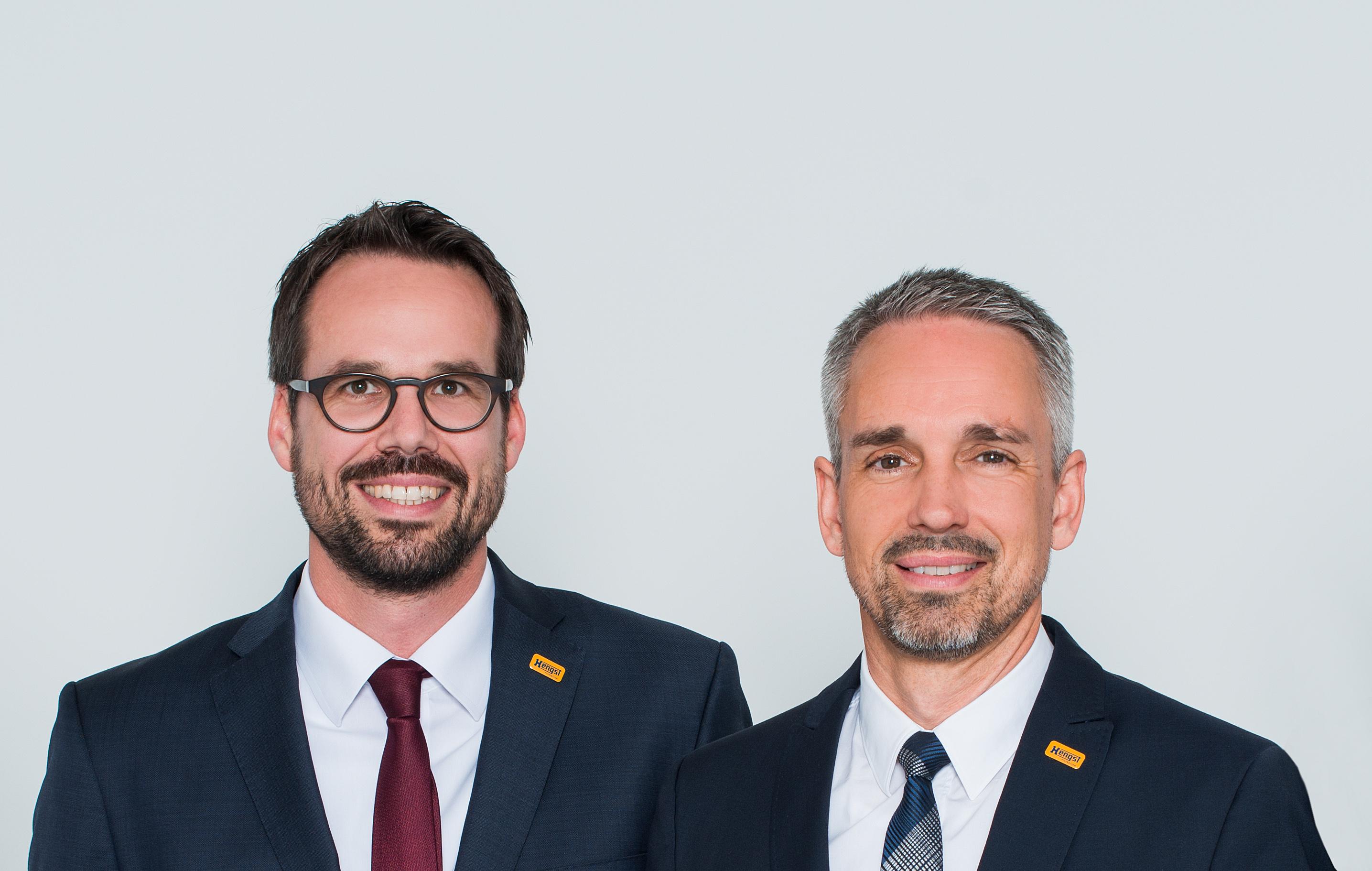 Von links: Christopher Heine – Chief Executive Officer, Jens Röttgering – Geschäftsführender Gesellschafter und Vorsitzender des Boards Hengst Filtration (Foto: Hengst)