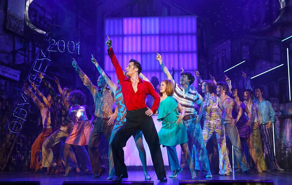 Saturday Night Fever - Das Musical auf Europatournee: im November auch in Horn-Bad Meinberg (Foto: Paulis)