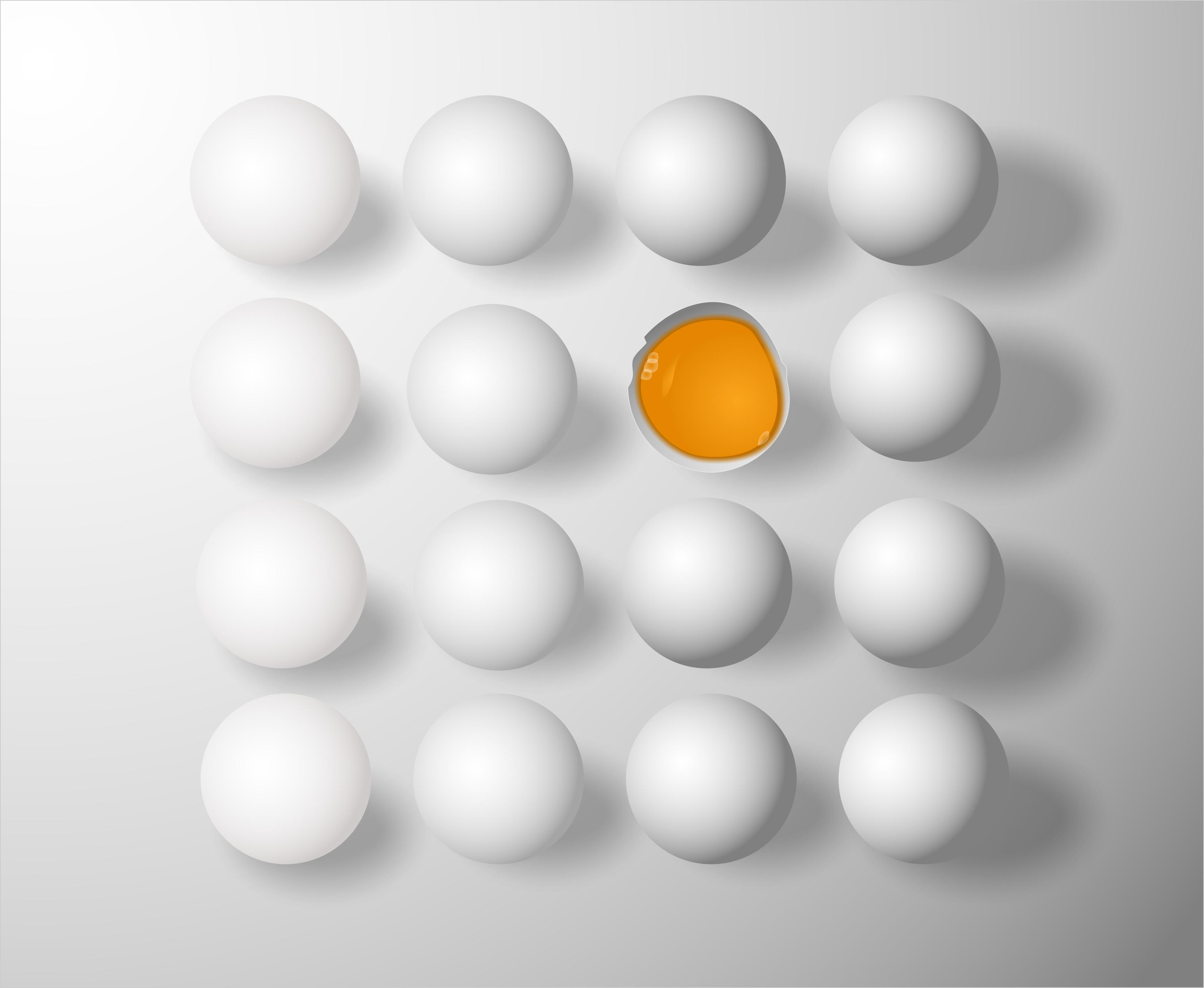 Keine faulen Eier mehr: Das verspricht das neue Projekt am inIt in Lemgo (Foto: jarmoluk/Pixabay)