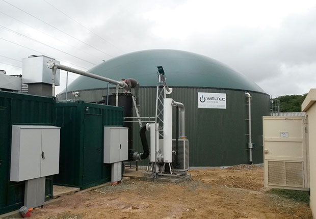 WELTEC - Bretonische Biogasanlage wird auf 500 Kilowatt aufgestockt