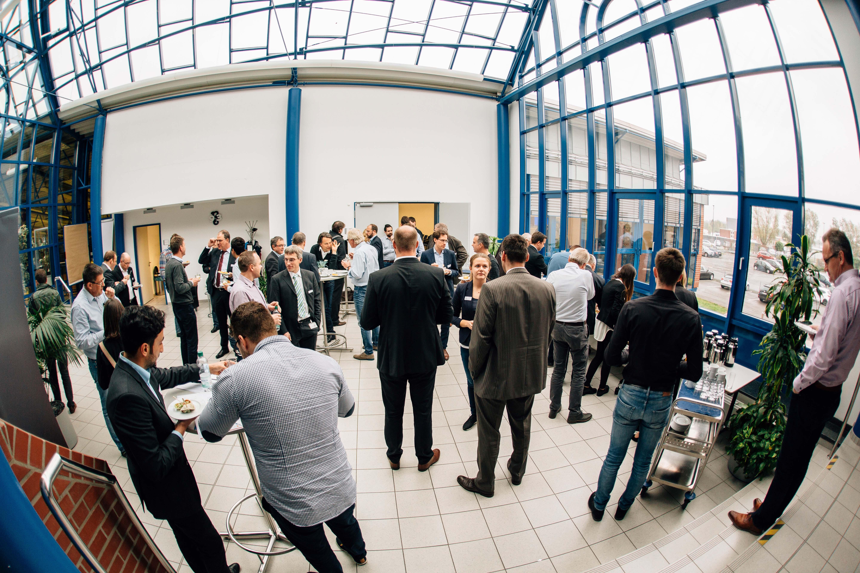 Bei BENTELER in Paderborn diskutierte die Fachgruppe Industrie 4.0, was mit Daten alles möglich ist (Foto: Digital in NRW)