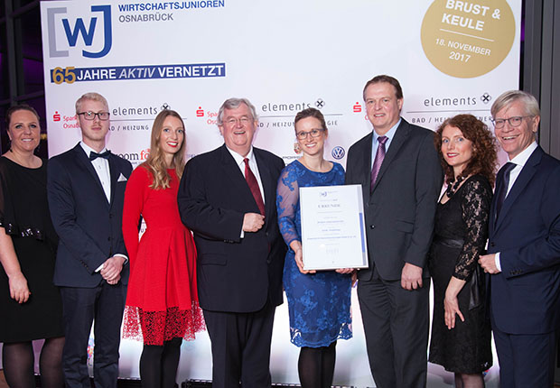 Familienunternehmen Piepenbrock mit Ehrbares Unternehmertum 2017 ausgezeichnet
