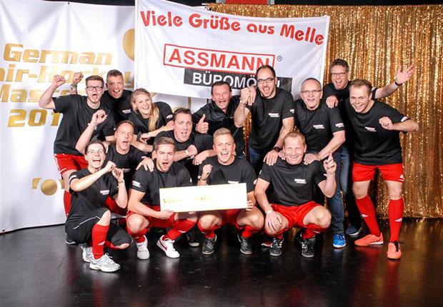 Die Chair-Hockey Mannschaft von Assmann