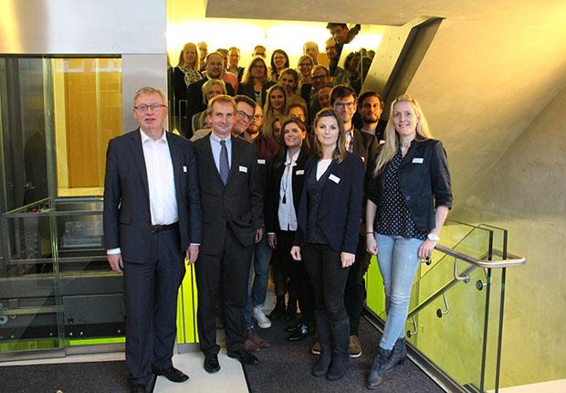 Teilnehmer Zweites Ideenlabor Münsterland. Mittelpunkt der Überlegungen war ein Digitalisierungsfestival.