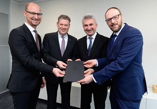 Erstes Projekt DNM des neuen Digitalen Zentrums Mittelstand in Lippstadt (DZM)