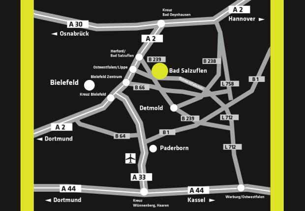 Die Partnertage Ostwestfalen im Messezentrum Bad Salzuflen an der Benzstraße 23