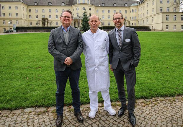 In Bad Driburg konnten zwei der insgesamt fünf Gräflichen Kliniken ab Oktober dieses Jahres jeweils einen neuen Chefarzt begrüßen.