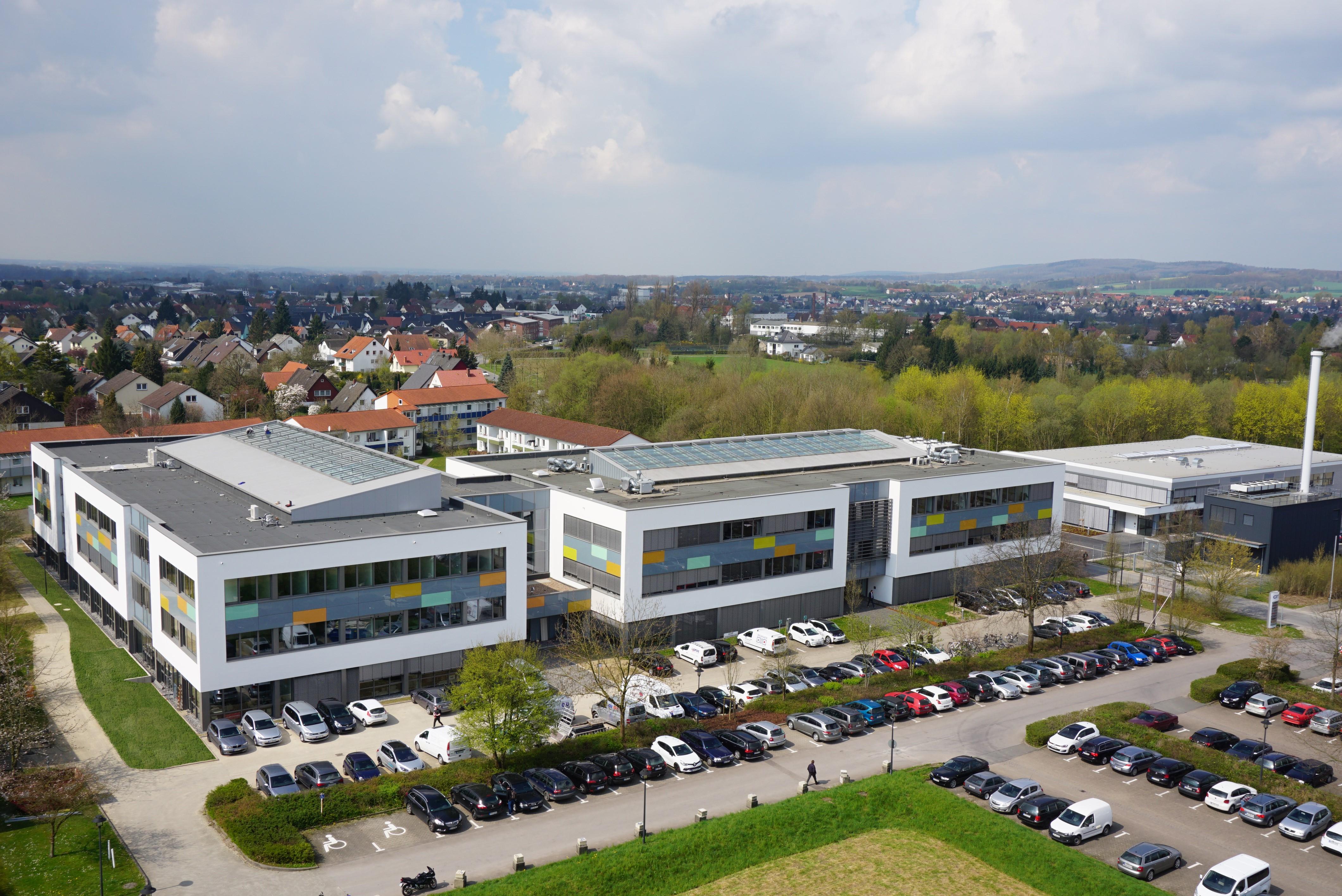 Lemgo als starker Standort: Weidmüller stärkt mit seiner Präsenz den Innovation Campus (Foto: CIIT Lemgo)
