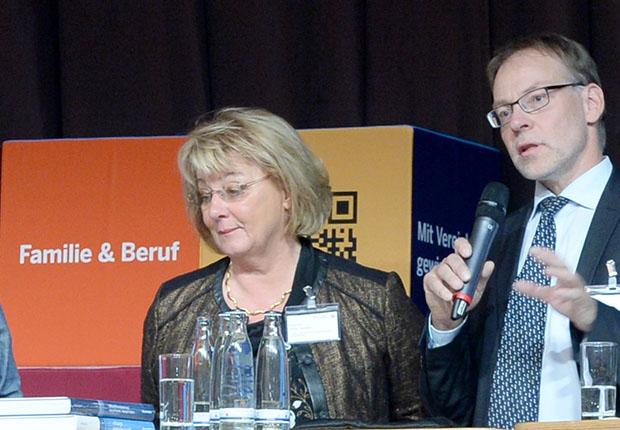 Jahreskongresses Familie@Beruf in Düsseldorf.